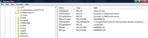 Registry Services example